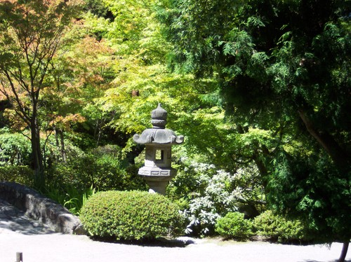 Shrine in the Japanese Garden