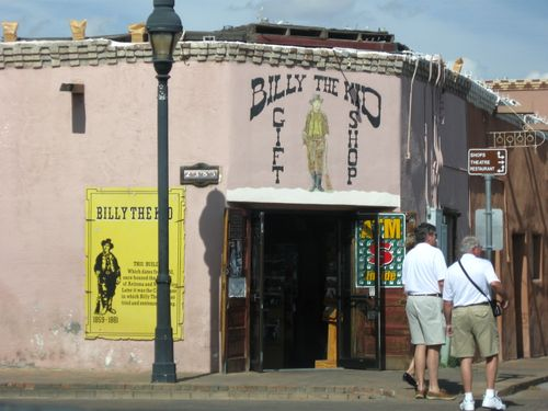 Billy the Kid in old Mesilla