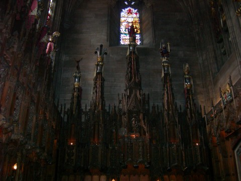 Back of the Thistle Chapel