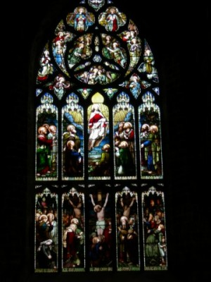 Window in St. Giles