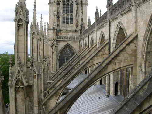Yorkminster Abbey arches