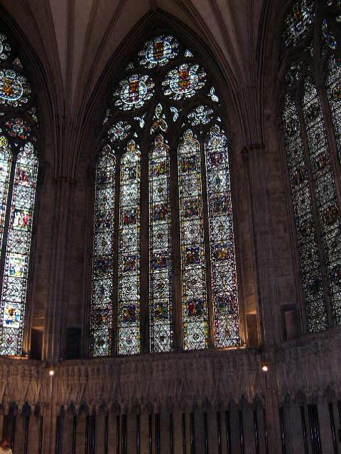 Yorkminster Abbey stained glass