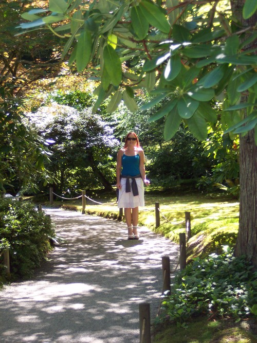 Liv in the Japanese Garden