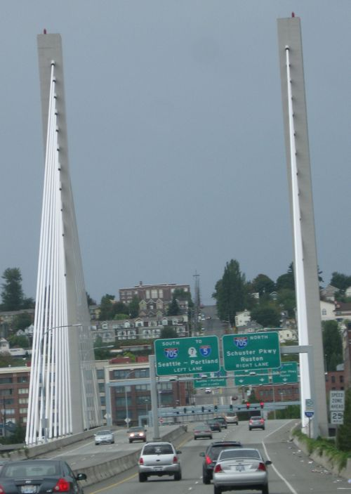 Bridge into Tacoma