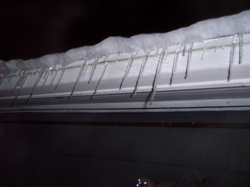Nice drippy icicles